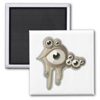 Eyedrops Quadratischer Magnet