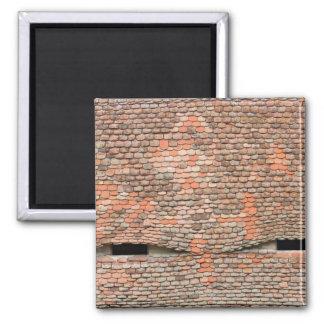 Eyelike Dormerfenster in einem mit Ziegeln gedeckt Quadratischer Magnet