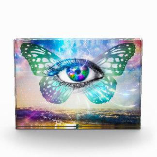 EyeMind horizontaler Block-Preis Auszeichnung