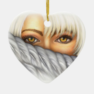 Eyes of Gold Ornament