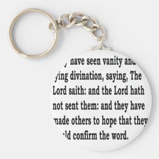 Ez. 13:6 schlüsselanhänger