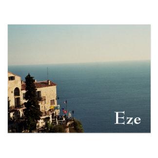 Eze Postkarte