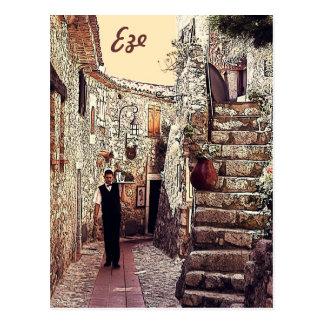 Eze, Provence Postkarte