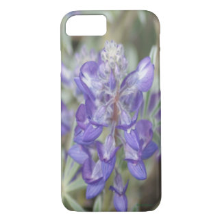 F0018 lila Wildblume Iphone 8/7 Telefonkasten iPhone 8/7 Hülle