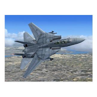 F14 Tomcat Postkarte