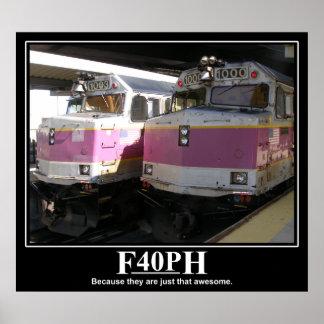 F40PH Plakat