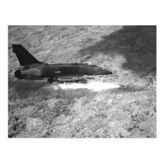 F-100 Supersabre Postkarte