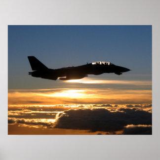 F-14D Tomcat Plakatdruck