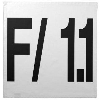 F/ 1,1 STOFFSERVIETTE