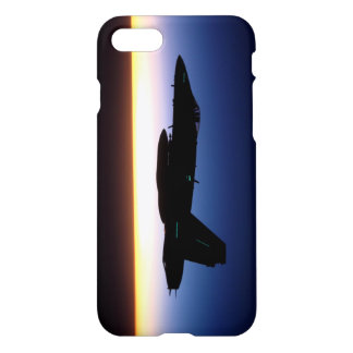 F/A-18C Hornisse am Sonnenuntergang-Telefon-Kasten iPhone 8/7 Hülle