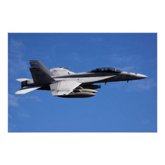 F/A-18F Superhornisse Poster