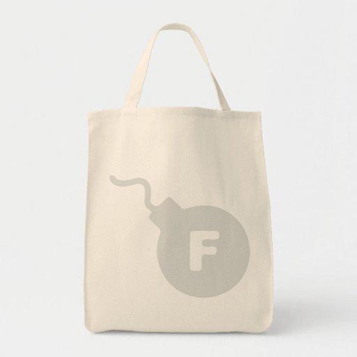 F-Bombe Einkaufstasche