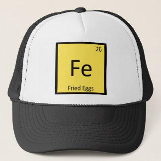 F.E. - Spiegelei-Chemie-Periodensystem-Symbol Truckerkappe