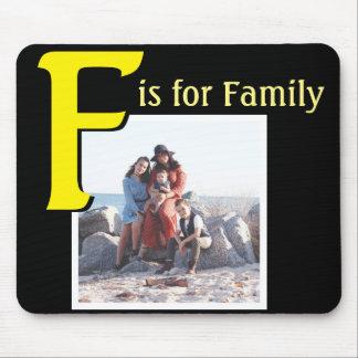 F für Familie Mauspad