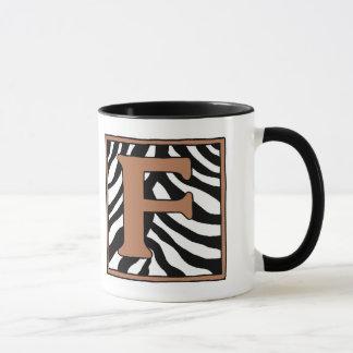 F-Zebra-Kaffee-Tasse Tasse