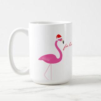 Fa-Lalala Flamingo-Feiertags-Tasse Kaffeetasse