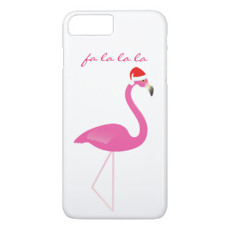Fa-Lalala Flamingo iPhone 7 im Weiß iPhone 8 Plus/7 Plus Hülle