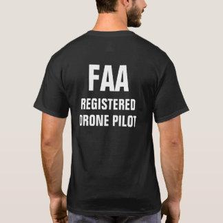FAA registriertes Drohne-PilotShirt T-Shirt