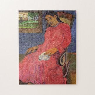 """""""Faaturuma (Melancholie)"""" - Paul Gauguin Puzzle"""
