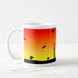 Fabel-Stillstehen Kaffeetasse