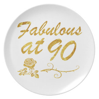Fabelhaft bei 90 Jahren Teller