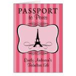 Fabelhafte 15. Pass-Einladung Karten