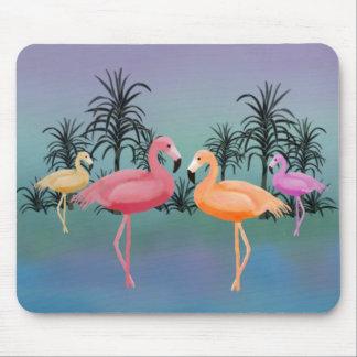 Fabelhafte Flamingos Mousepad