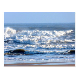 Fabelhafte Wellen! Postkarte