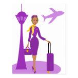Fabelhafter Flugbegleiter Postkarten