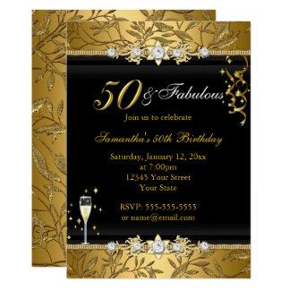 Fabelhaftes Geburtstags-Schwarzes des Karte