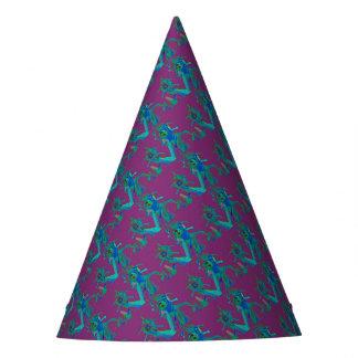 Fabrik-Frauen in den Gänseblümchen-Gasmasken Partyhütchen