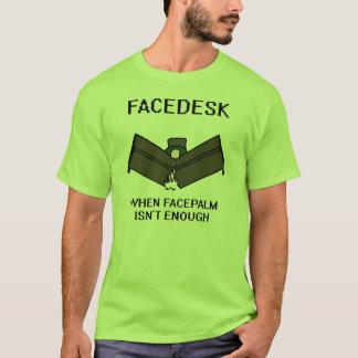 Facedesk T-Shirt