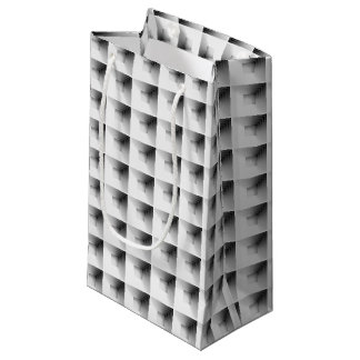 Fachentwurf im Grau… Kleine Geschenktüte