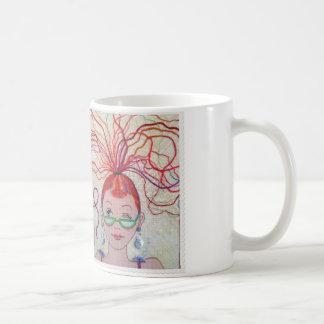 Faden-Kopf! Kaffeetasse