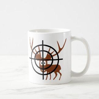 Fadenkreuz-Rotwild Tee Tasse