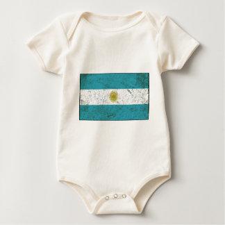 Fahne Argentiniens Baby Strampler