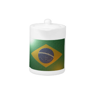 Fahne Brasiliens Metalizada