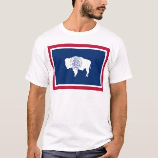Fahne des Wyoming T-Shirt