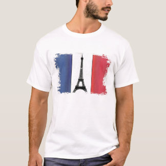Fahne Frankreichs T-Shirt