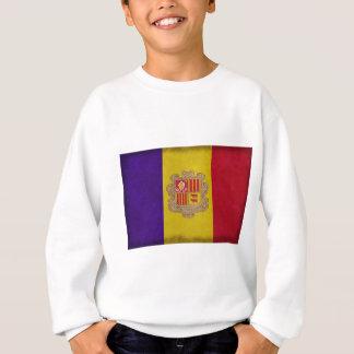 Fahne Fürstentum Andorra Sweatshirt