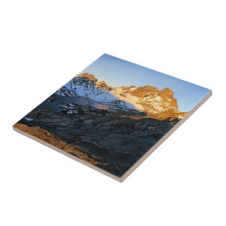 Fahnen-Höchstsonnenaufgang-Garnet See - John Keramikfliese