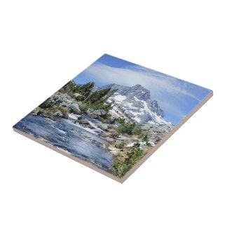 Fahnen-Spitze von tausend Insel - Sierra Nevada Keramikfliese