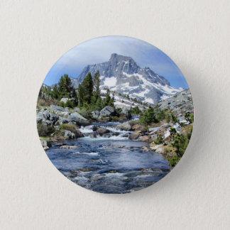 Fahnen-Spitze von tausend Insel - Sierra Nevada Runder Button 5,7 Cm