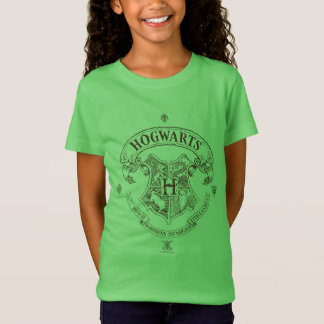 Fahnen-Wappen Harry Potter | Hogwarts T-Shirt