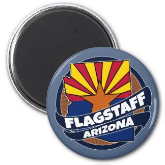 Fahnenmast-Arizona-Flaggenexplosionsmagnet Runder Magnet 5,7 Cm