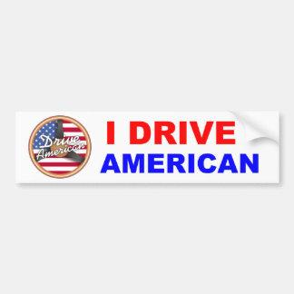 Fahren Sie Amerikaner Autoaufkleber
