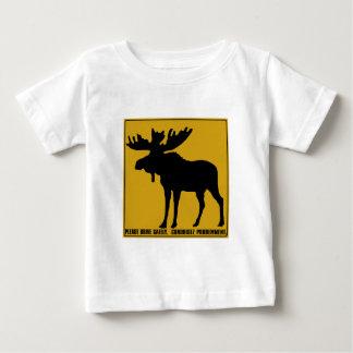 Fahren Sie bitte sicher, Verkehrszeichen, Kanada Baby T-shirt