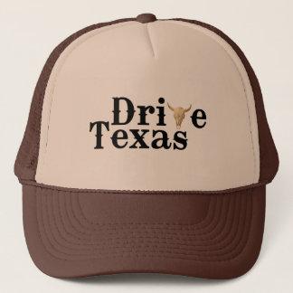 Fahren Sie Hut Texas Brown Truckerkappe