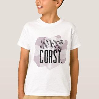 fahren Sie nie die Küste entlang T-Shirt