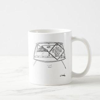 Fahren von Cartoon 6876 Kaffeetasse